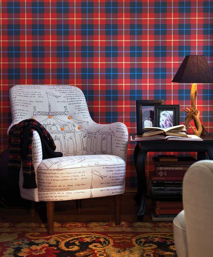www.ikea chair covers for wedding rustic tartan mood…only girls! - adesigned blogadesigned blog