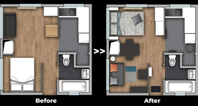 5 Studio Apartment Design Tips On A