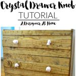 How I Made It Rose Quartz Drawer Pulls A Designer At Home