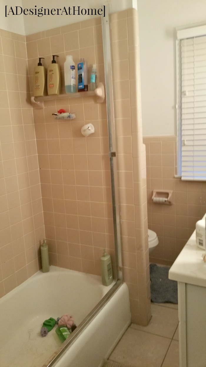 Removing Sliding Doors from a Shower  A Designer At Home