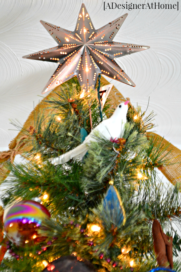 colorful whimsical tree topper - Whimsical Christmas Tree Toppers