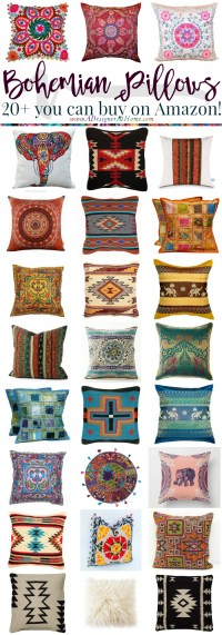 Where To Buy: Bohemian Pillows