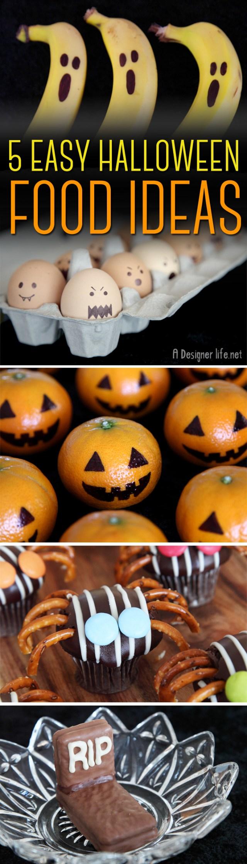 5 Easy Halloween Food Ideas