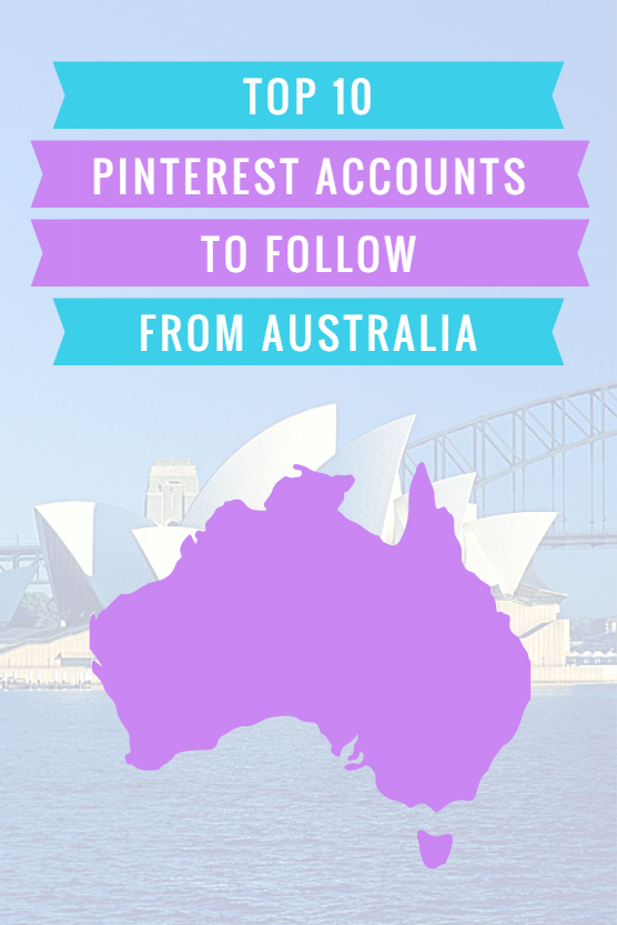 Top Pinterest accounts to follow in Australia