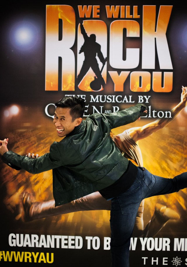 We Will Rock You Sydney musical review