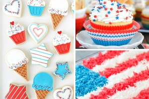 4th of July Party Recipes to make your red, white and blue menu planning a breeze!