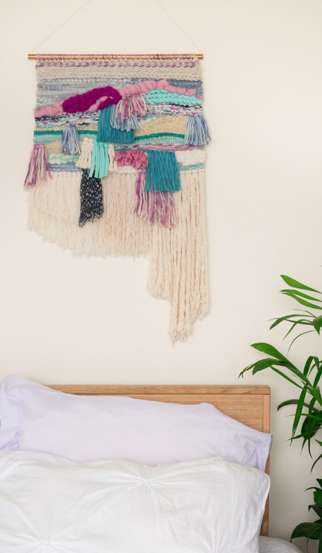 Modern Woven Wall Hanging Tapestry | Jade & Frankie