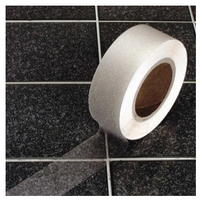 ruban adhesif antiderapant transparent pour bain douche et