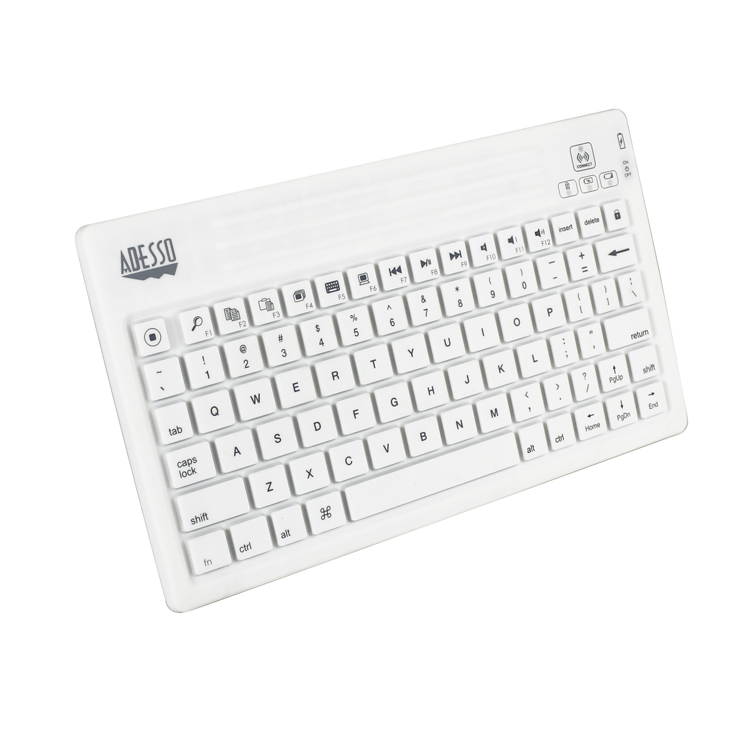 WKB-2000BW- Bluetooth® Waterproof Keyboard for Mac