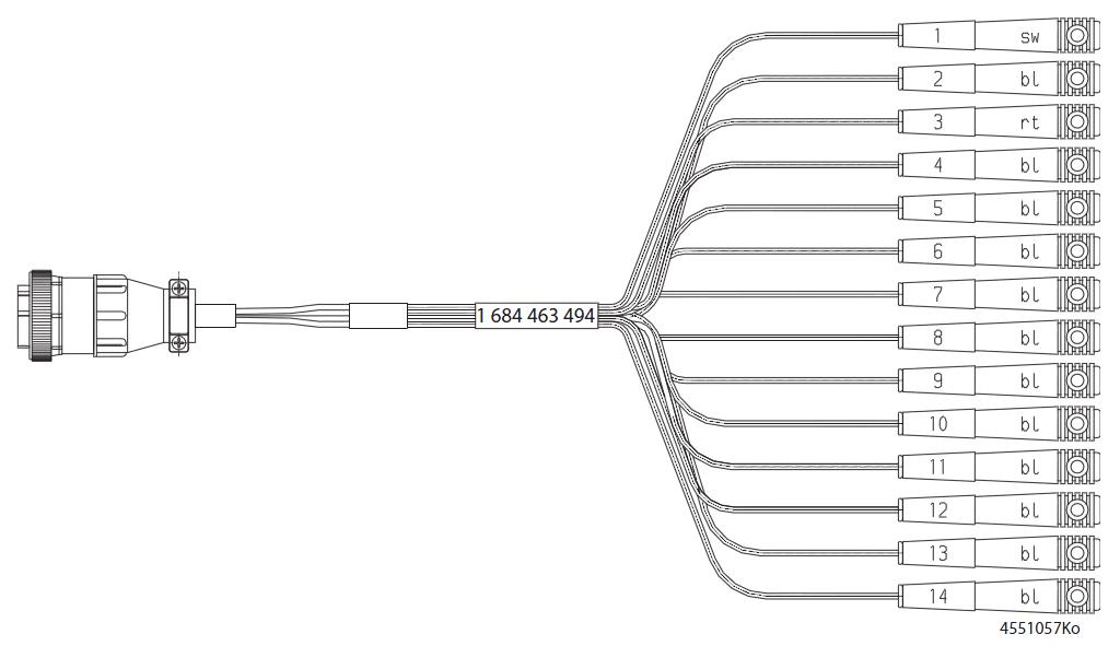 Bosch Mercedes Sprinter Adapter Cable