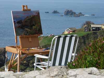 The perils, pitfalls and pleasures of painting en plein air