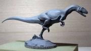 Allosaurus fragilis in Super Sculpey
