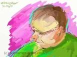 Random figure Artrage iPad
