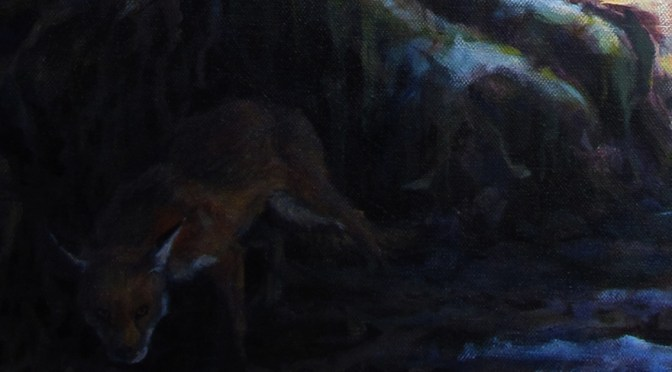 What the fox? A Sir Gawain painting without Sir Gawain?