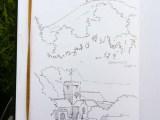 Penciul sketches of Colmer's Hill