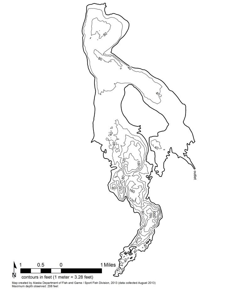 Sport Fishing Lake Information, Alaska Department of Fish