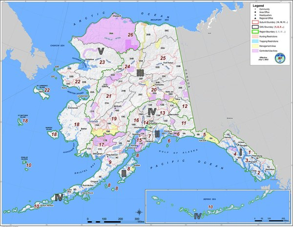 Alaska GMU Maps Alaska Department of Fish and Game