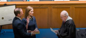 U.S. Supreme Court nominee Amy Coney Barrett is already facing slander for her faith