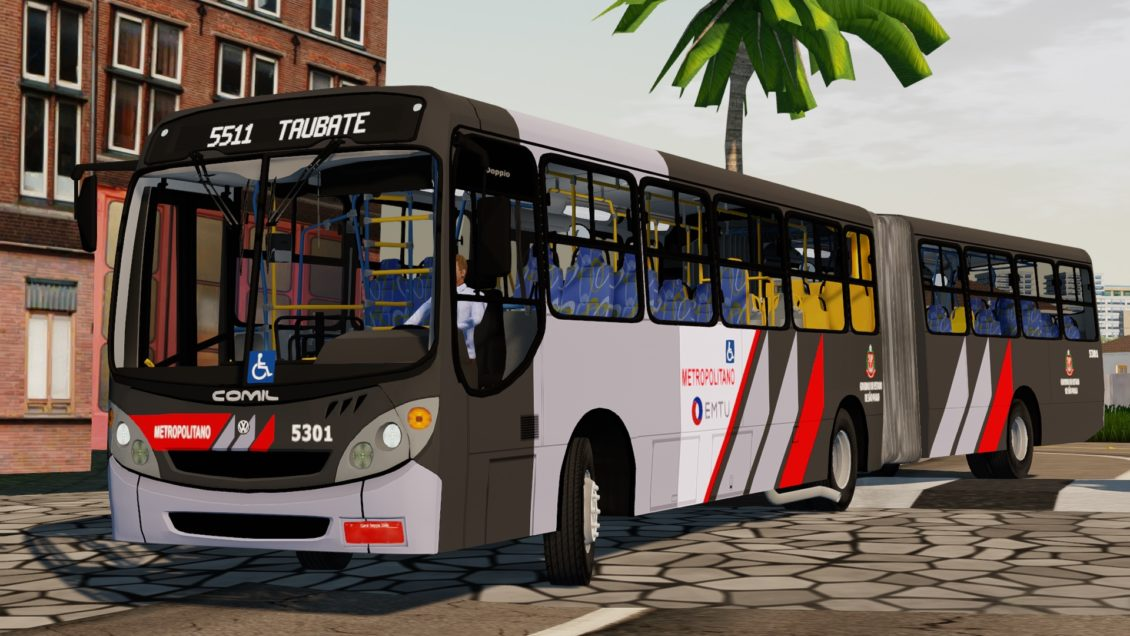 Proton Bus Simulator: Mod Comil Doppio 2000 VW 17.210 EOD (Download) | By: Jeferson Roca Vieira