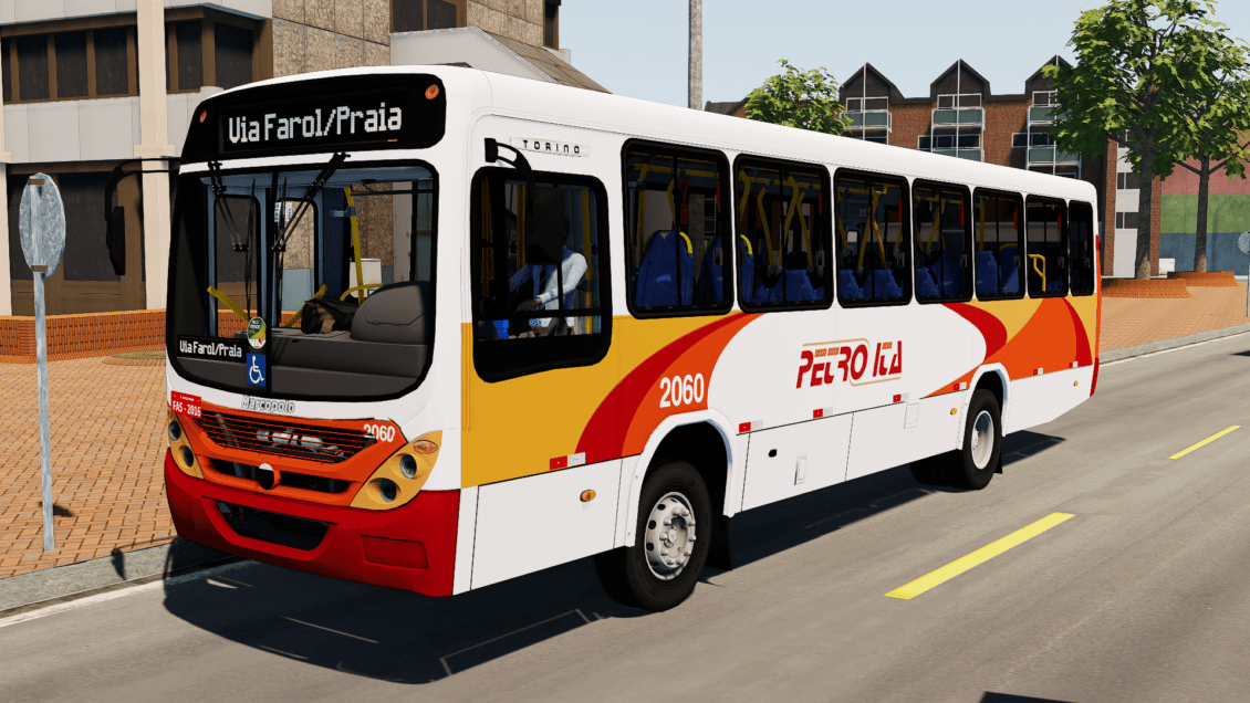 Proton Bus Simulator: Mod Torino 2007 OF-1418 – Petro Ita (Download)