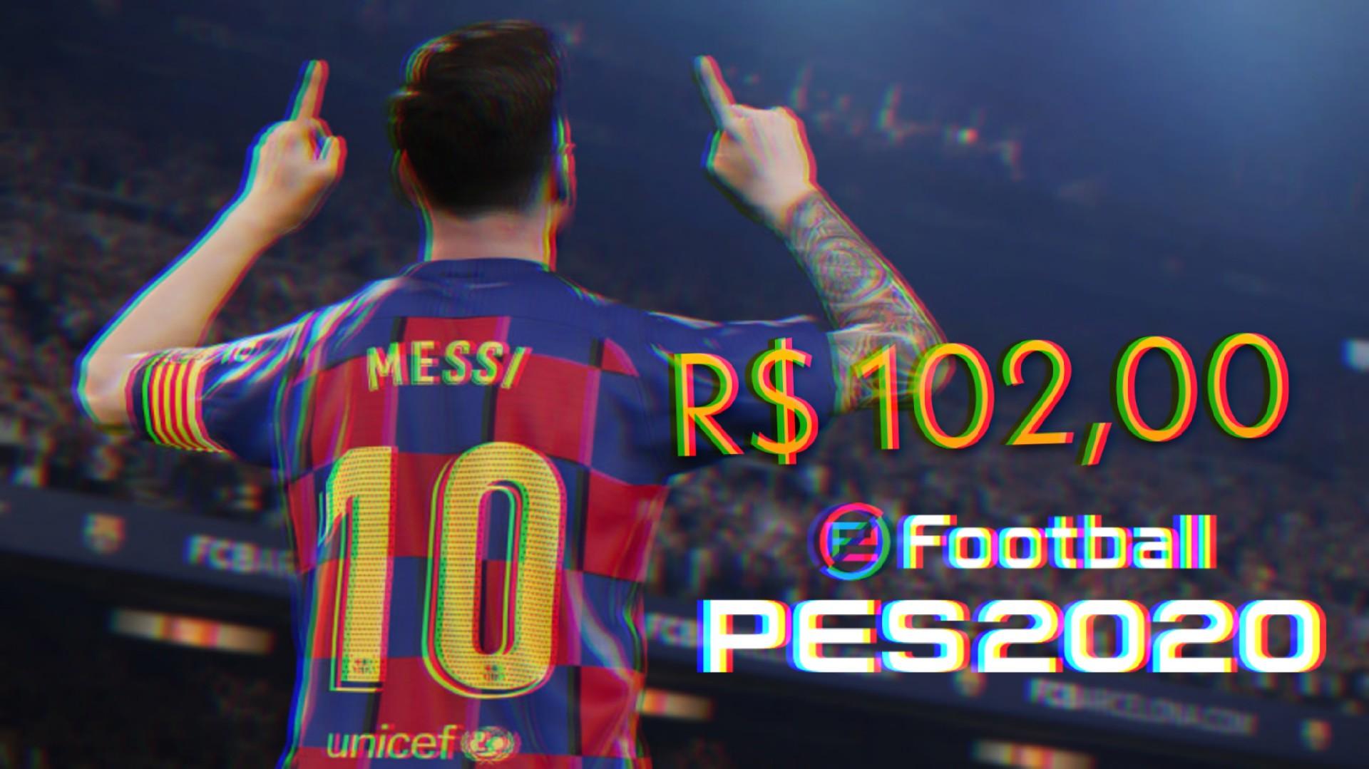 eFootball PES 2020 está por R$ 102,00 no PC, veja como aproveitar essa promoção!