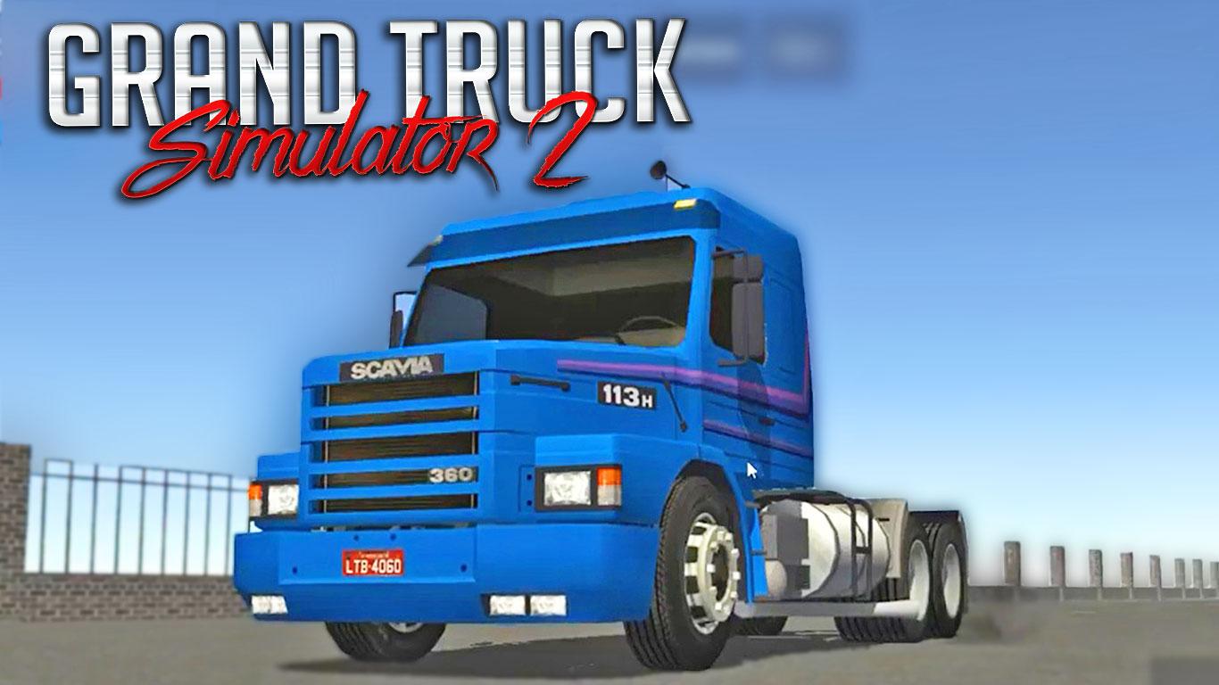 Grand Truck Simulator 2 – Testes de danificações para o caminhão