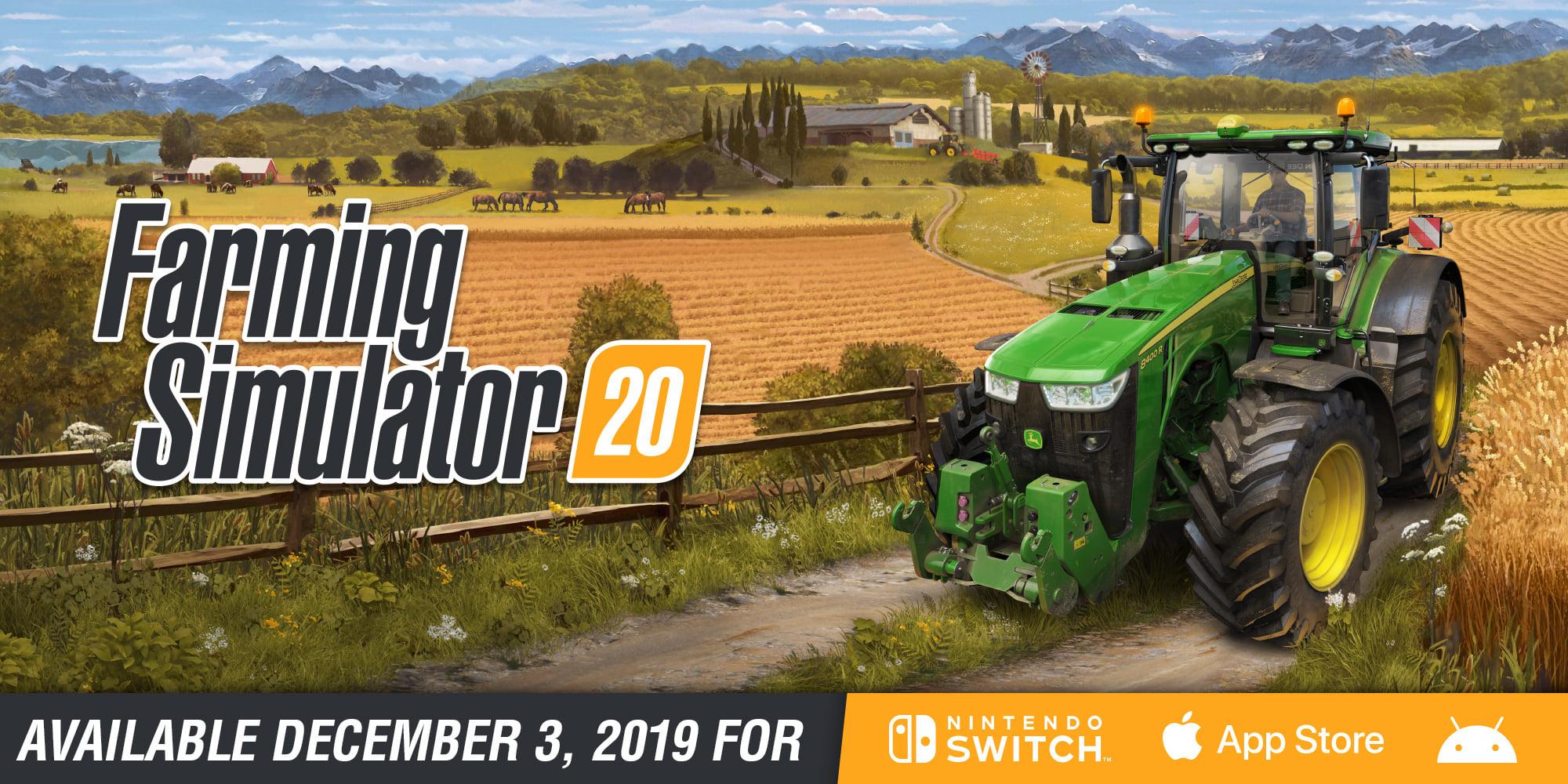 Farming Simulator 20 está disponível para registro em Android e iOS