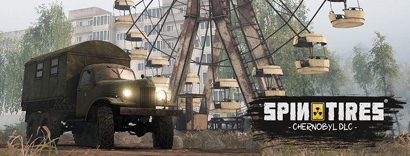 Spin Tires® apresentará nova DLC intitulada como Chernobyl