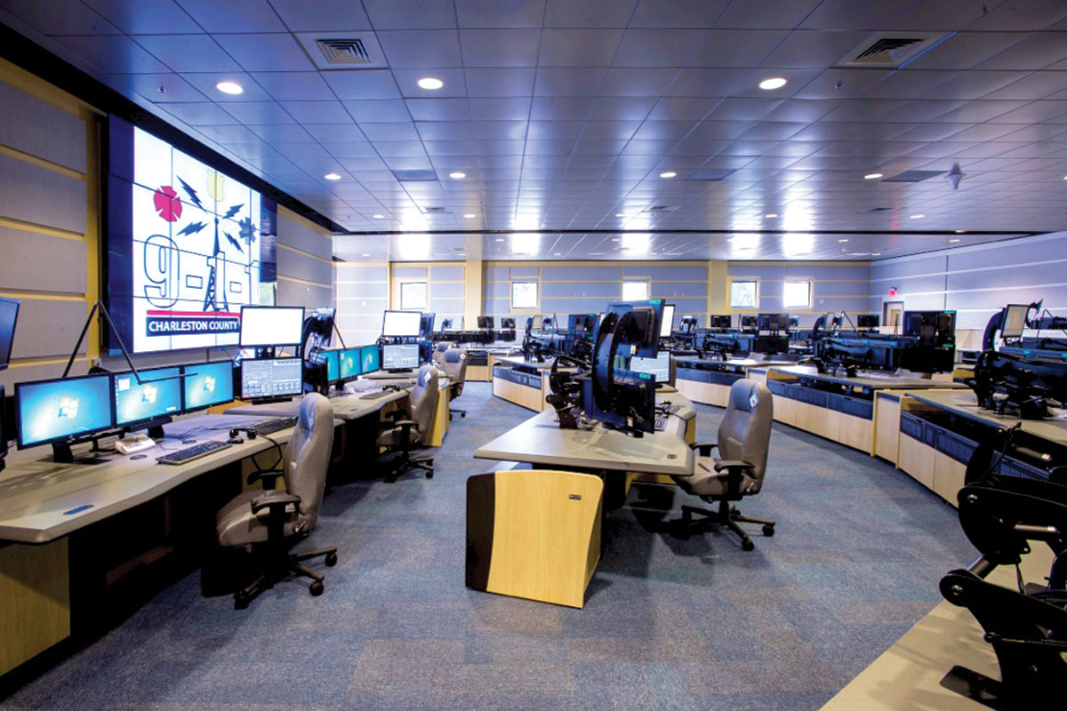 Charleston County Consolidated Eoc And 911 Communications