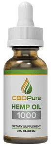 CBDPure – Hemp Oil 1000mg
