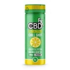 cbdfx lemonade chill shot