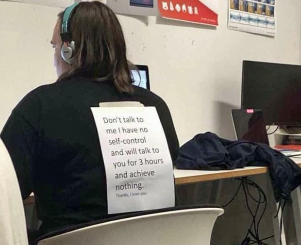 ADHD self-awareness while working