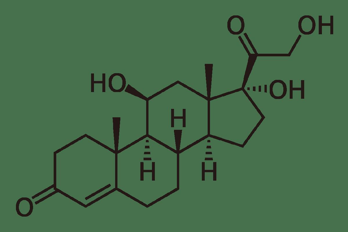 cortisol structuurformule