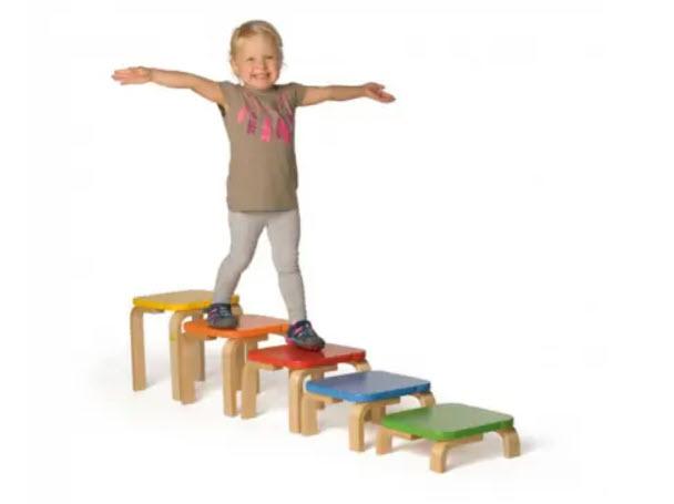 houten balanceertrap sensorisch