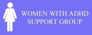 a logo of women with adhd support group