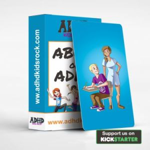 ABCs of ADHD Flashcards to help teachers of kids with ADHD