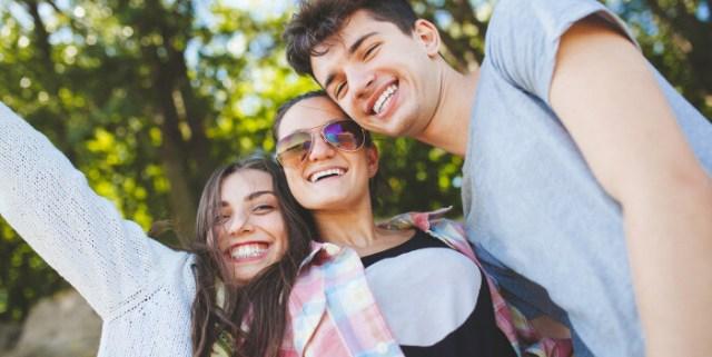 Happy teenage friends #ADHDKidsRock