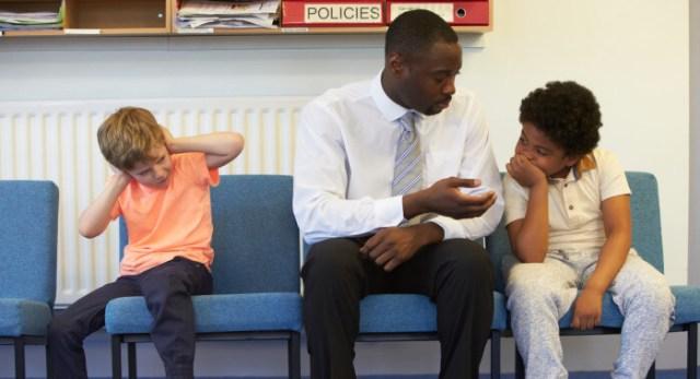 Principal Solving Problem Between Two School Students