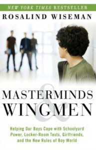 Masterminds & Wingmen book by Rosalind Wiseman. It's about why video games can be good for kids with ADHD.