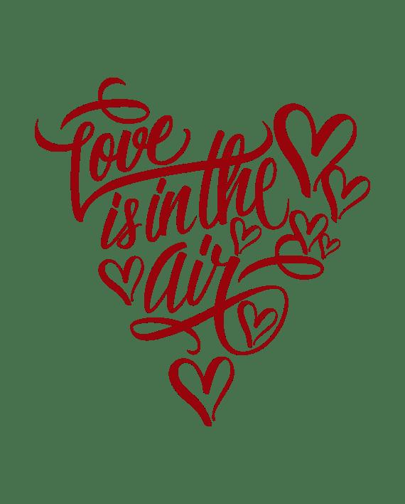 Download Love is in the Air - Vinilo Decorativo - adhesivosNatos