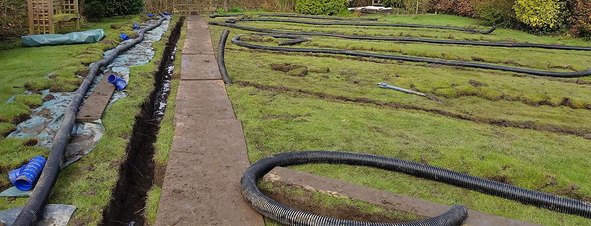 Garden Drainage York  Adhochandyman York