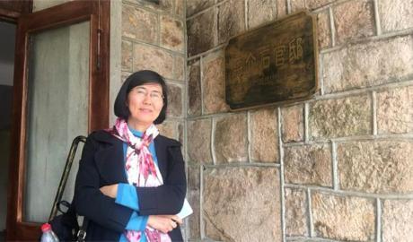 709案当中,律师王宇(图)经历长达两年的羁押与取保候审,至今没有稳定收入来源。(包龙军独家提供,拍摄日期不详)