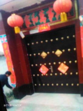 河南省灵宝市至少13处聚会场所被查封 18个十字架被拆(图)