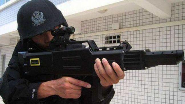警用激光枪: 中国的维稳新器