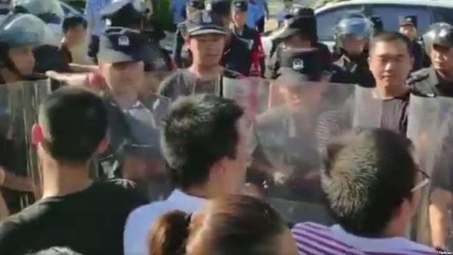 深圳佳士筹建工会员工连日来坚持抗争