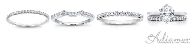 Thin Band Wedding Rings