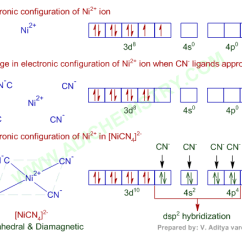 Cn Molecular Orbital Diagram Wiring For Car Stereo Pioneer Paramagnetic | Diamagnetic Coordination Compounds Mcq Iit Jee Adichemistry