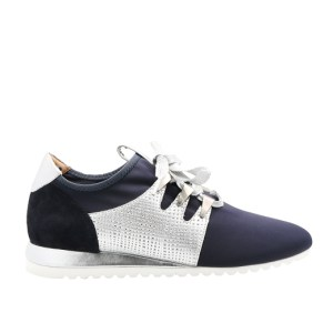 Basket toile Xyste navy
