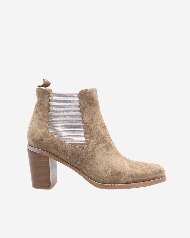Boots bottine Caren camel