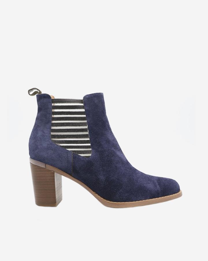 Boots bottine Caren bleue